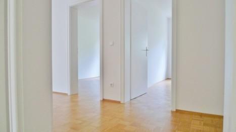 Flur einer 5 Zimmer Wohnung in München