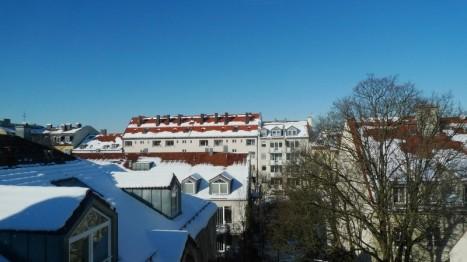 Ausblick aus Wohnung in München Animare Immobilien