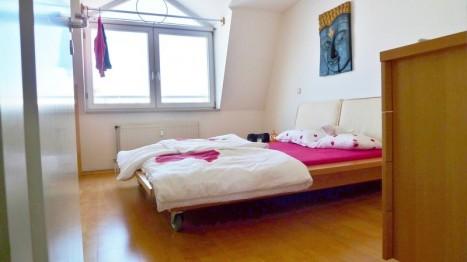 Schlafzimmer in einer Wohnung von Animare Immobilien