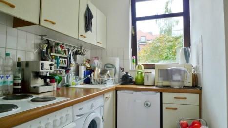 Küche in 2 Zimmer Wohnung in Schwabing-München