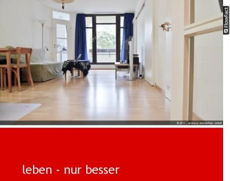 Wohnzimmer in 2 Zimmer Schwabing-München