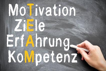Motivation Ziele Erfahrung Kompetenz